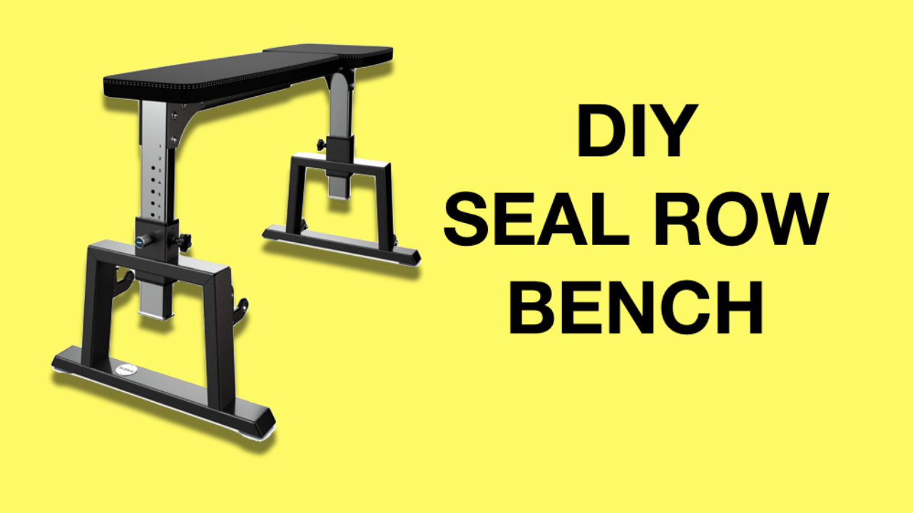 Seal Row Bench Diy Dumbbell Or Barbell Prone Row Alternative